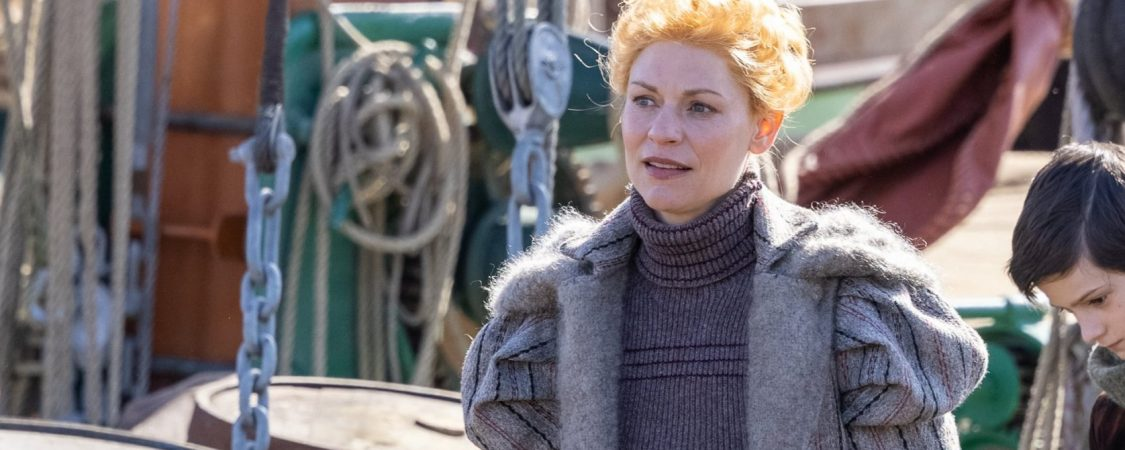 The Essex Serpent New Behind Scenes Photos of Claire Danes and Tom Hiddleston